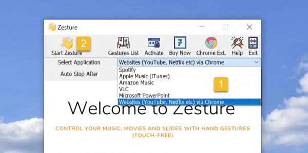 Cách điều khiển YouTube, NetFlix, Microsoft PowerPoint,... không cần chạm 3