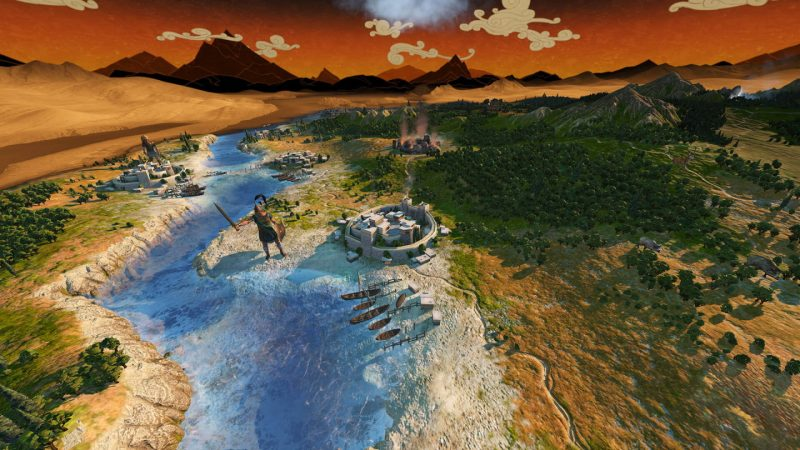Trải nghiệm game A Total War Saga: TROY