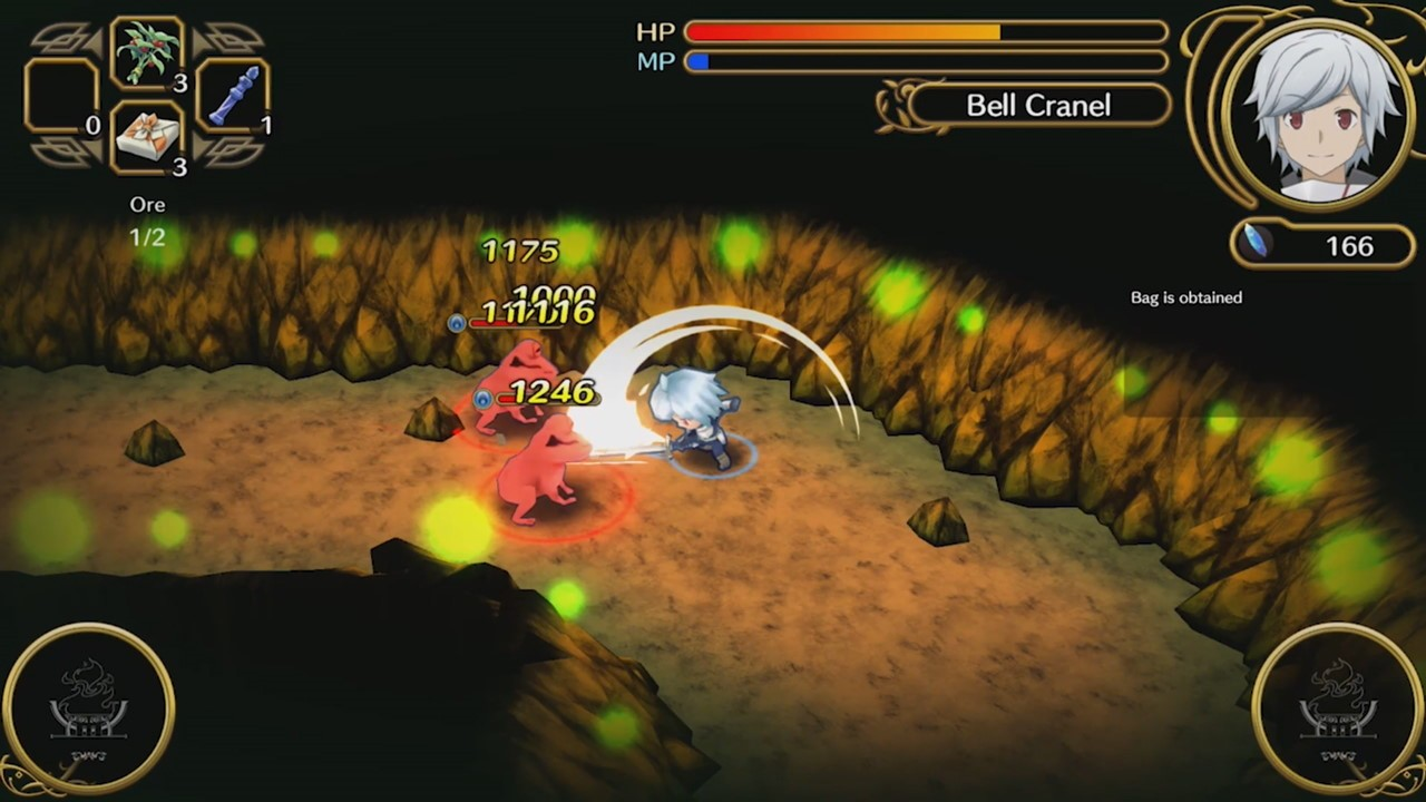 Đánh giá game Is It Wrong To Try To Pick Up Girls In A Dungeon? - Infinite Combate