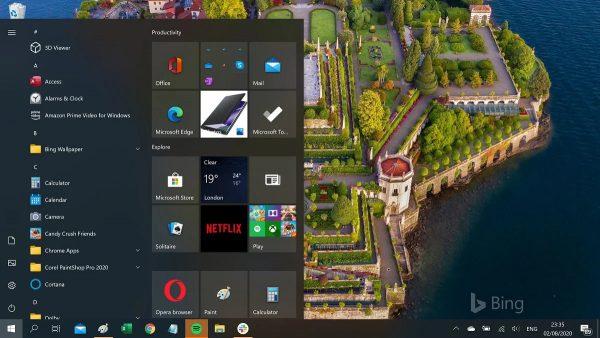 Trải nghiệm ngay trình đơn Start mới của Windows 10 2