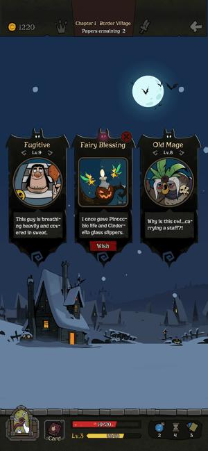 Đang miễn phí game thẻ bài Night of the full moon dành cho iOS 1