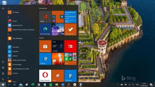 Trải nghiệm ngay trình đơn Start mới của Windows 10 1