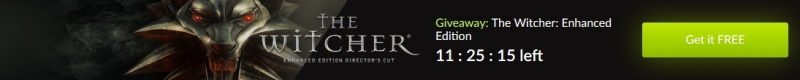 Tải ngay kẻo lỡ The Witcher: Enhanced Edition Director's Cut đang miễn phí vô cùng ngắn hạn