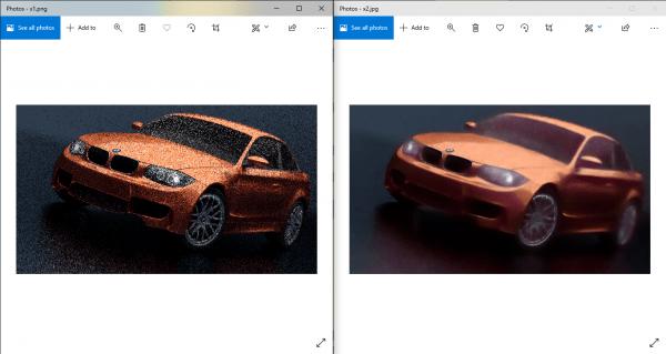 Phóng to ảnh không bị vỡ hạt online bằng AI với AI Image Denoiser 4
