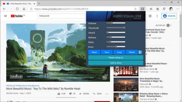 Cách nghe nhạc, xem video tuyệt vời hơn trên Microsoft Edge Chromium 2