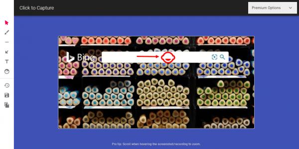 Cách dùng Click to Capture chụp ảnh, quay video màn hình trang web trên Microsoft Edge 4