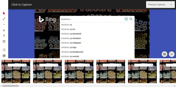 Cách dùng Click to Capture chụp ảnh, quay video màn hình trang web trên Microsoft Edge 5