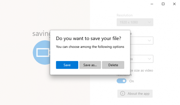 Fluent Screen Recorder: Ứng dụng quay video màn hình Windows 10 4