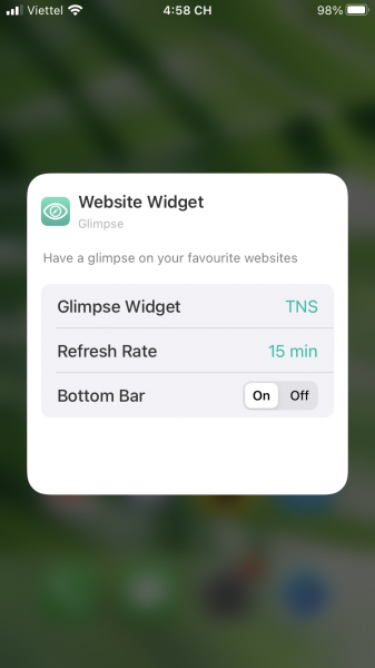 How to follow new news on your favorite website from iOS 14 6 screen widget