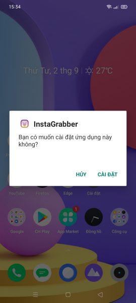 Cách tải nhiều ảnh, video Instagram cùng lúc trên Android 1