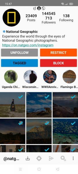 Cách tải nhiều ảnh, video Instagram cùng lúc trên Android 3