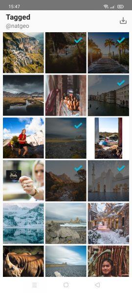 Cách tải nhiều ảnh, video Instagram cùng lúc trên Android 4