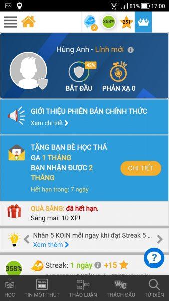 Lang Kingdom: Ứng dụng học tiếng Anh online giúp bạn giao tiếp tốt trong mọi ngữ cảnh 2