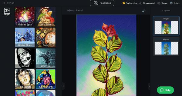 Có thể bạn không biết: PicsArt có thể dùng trên Windows 10 6