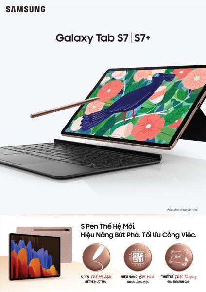 Samsung ra mắt Tab S7 và S7+ với S Pen thế hệ mới 1