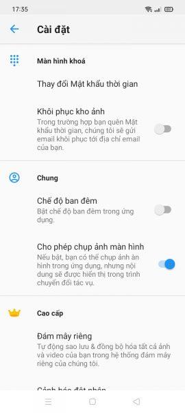 Giấu ảnh, video bí mật của bạn trong đồng hồ Android 6