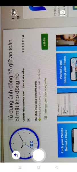 Giấu ảnh, video bí mật của bạn trong đồng hồ Android 3