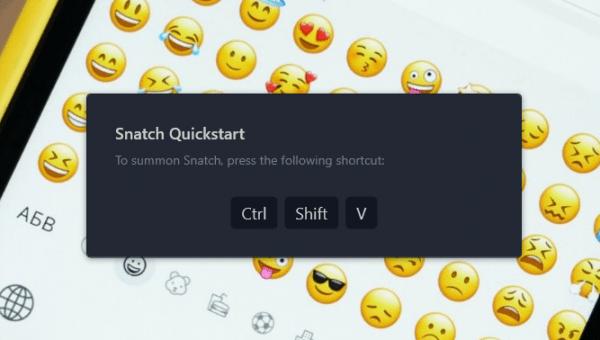 Snatch: Quản lý nội dung clipboard trên Windows 10 1