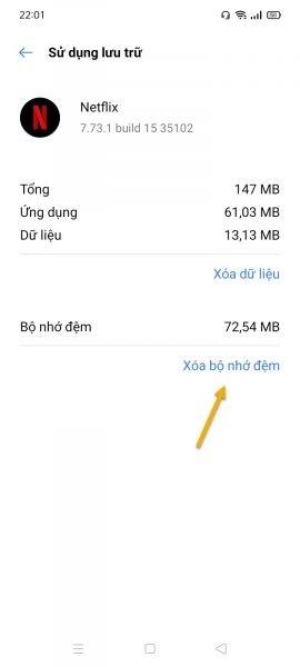 Sửa lỗi không mở được ứng dụng Netflix trên Android 4
