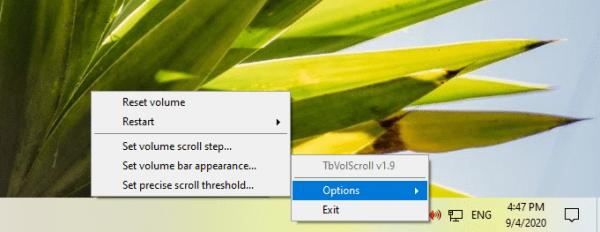 TbVolScroll: Điều chỉnh âm lượng bằng nút cuộn giữa của chuột 3
