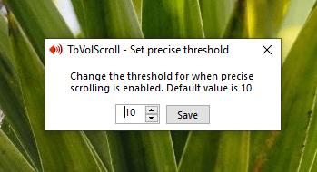 TbVolScroll: Điều chỉnh âm lượng bằng nút cuộn giữa của chuột 6