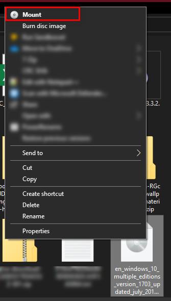 3 cách mount file ISO trên Windows 10