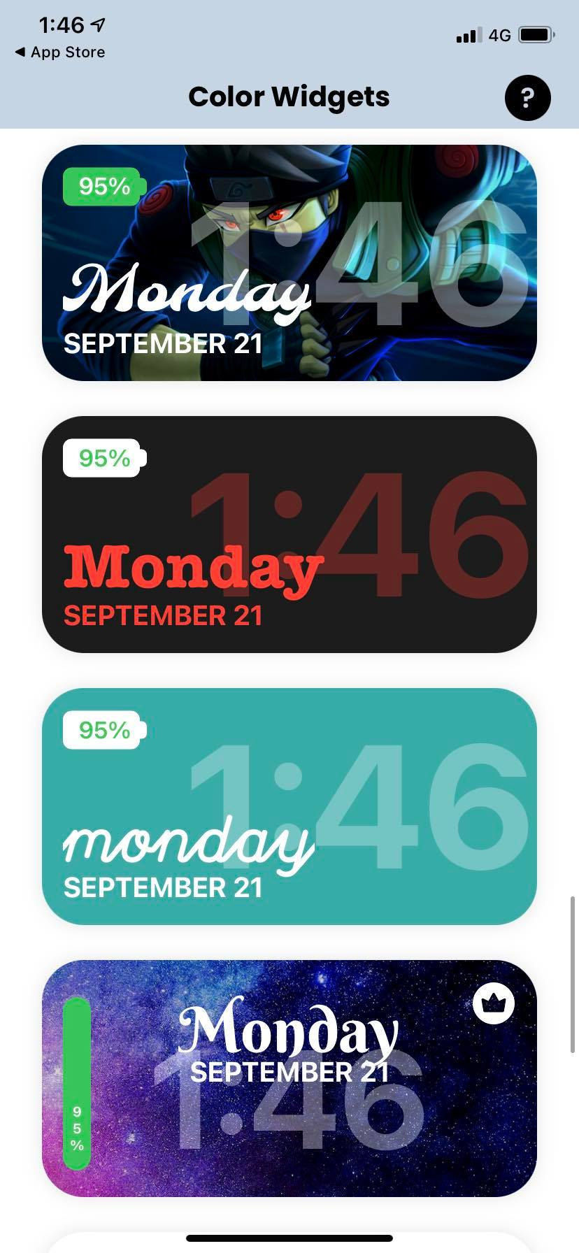 Cách thêm thanh pin và lịch xịn vào widget iOS 14 1