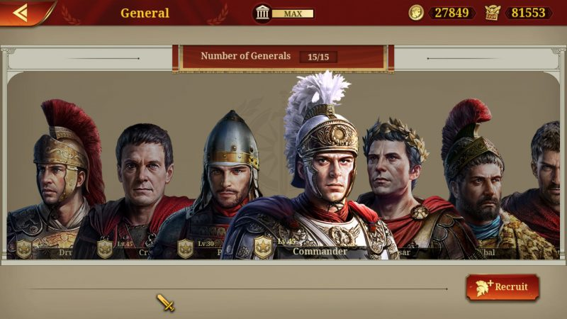 Review game Great Conqueror: Rome