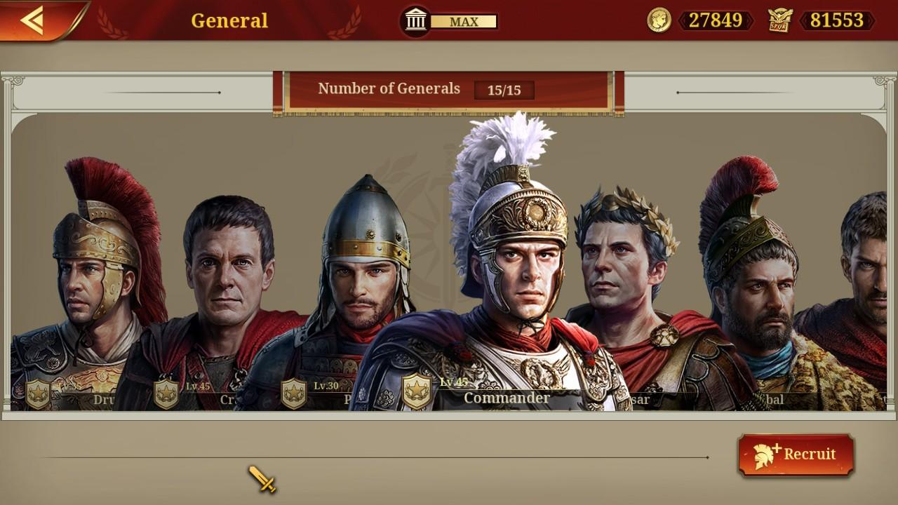Đánh giá game Great Conqueror: Rome