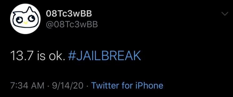 Hacker tìm được lỗ hổng mới có thể jailbreak iOS 13.7 1