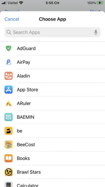 Cách thay đổi biểu tượng ứng dụng trên iOS 14 7