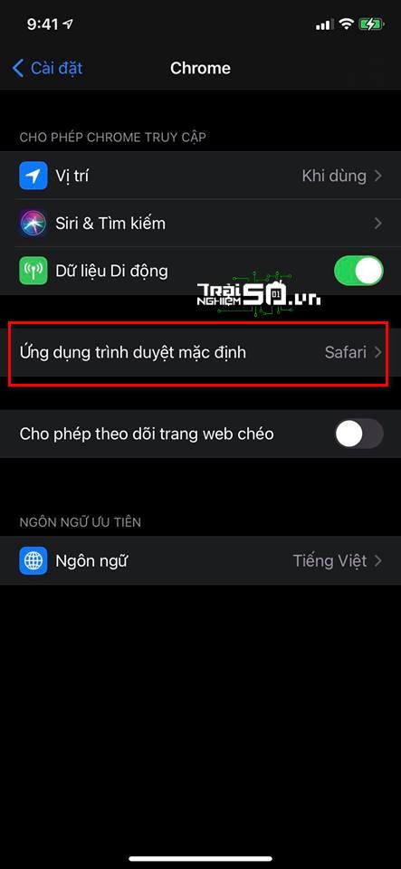 Cách đặt Microsoft Edge hay Chrome làm trình duyệt mặc định trên iOS 14 1
