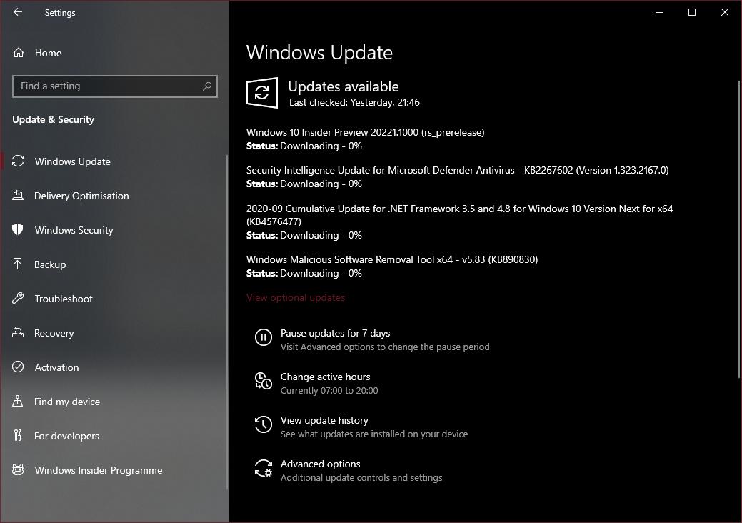 Windows Update bị treo ở 0% Downloading: làm sao khắc phục?