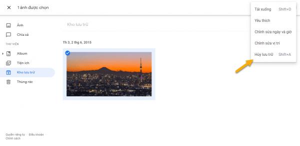 Cách ẩn video, hình ảnh trên Google Photos 2