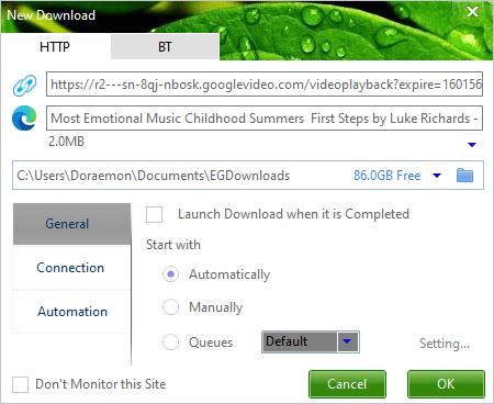 EagleGet: tải file như IDM trên Windows, lại miễn phí 2