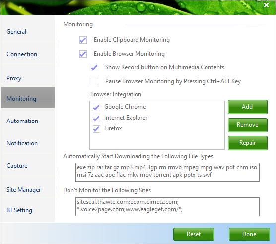 EagleGet: tải file như IDM trên Windows, lại miễn phí 7