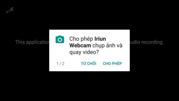 Iriun Webcam: biến điện thoại iOS, Android thành webcam cho máy tính 1