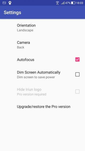 Iriun Webcam: biến điện thoại iOS, Android thành webcam cho máy tính 2