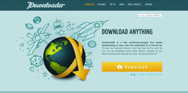 JDownloader 2: Tải file trên máy tính Windows từ điện thoại iPhone/Android