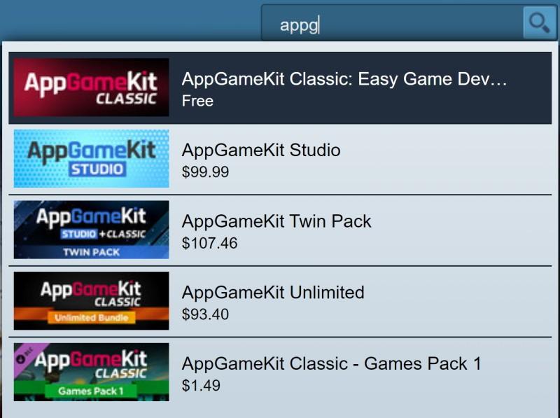 Đang miễn phí công cụ phát triển game AppGameKit Classic chỉ 48 tiếng