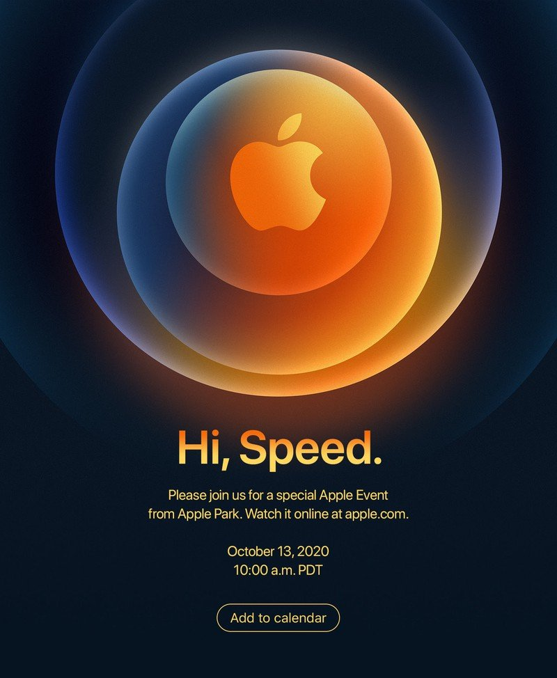 Apple announces event for iPhone only on Oct 13th 1