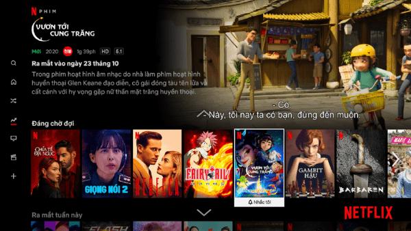 Những mẹo chọn phim Netflix trên tivi 2