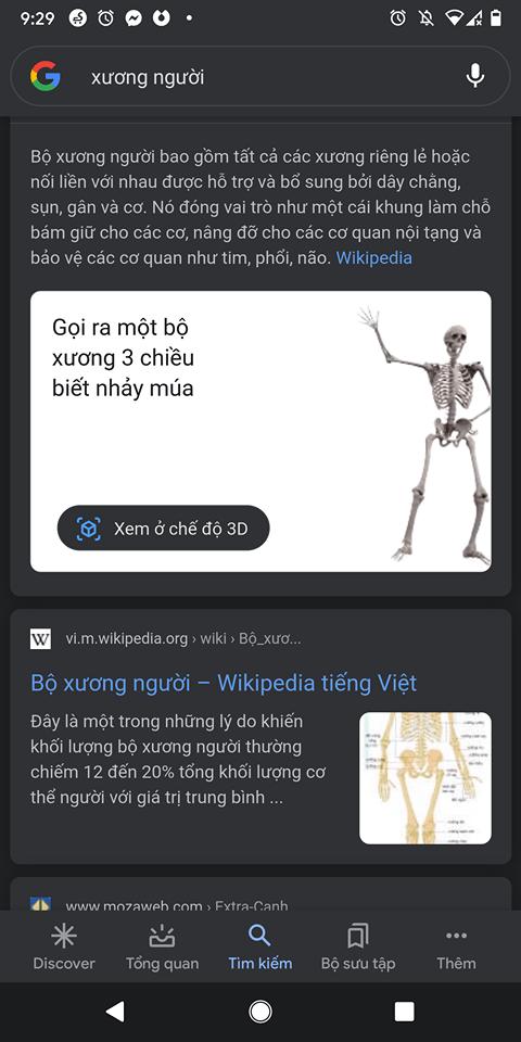 Google bổ sung động vật 3D mới cho Halloween 5