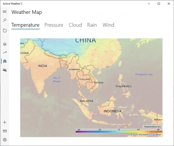 Active Weather 2: Ứng dụng xem dự báo thời tiết và chất lượng không khí 4