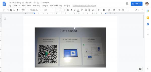 Chụp ảnh trên Android và dán cực nhanh vào máy tính Windows 10 4
