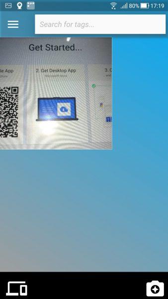 Chụp ảnh trên Android và dán cực nhanh vào máy tính Windows 10 2