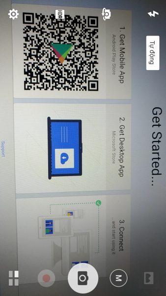 Chụp ảnh trên Android và dán cực nhanh vào máy tính Windows 10 3