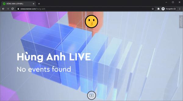 Onescreener: Cách tạo trang web quảng cáo miễn phí 1