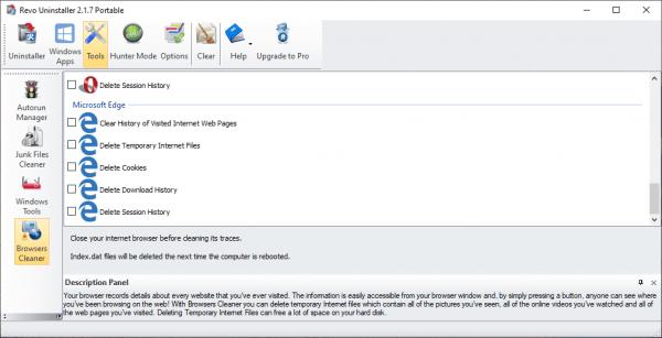 Revo Uninstaller Free: gỡ bỏ ứng dụng UWP hệ thống trên Windows 10 11