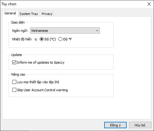 Speccy: Xem thông tin phần cứng máy tính Windows chi tiết 3